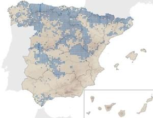 Mapa de distribució