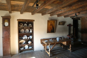 Casa Gassia d'Esterri d'Àneu és un dels espais visitables més emblemàtics de l'Ecomuseu de les Valls d'Àneu. Foto: Ecomuseu de les Valls d'Àneu
