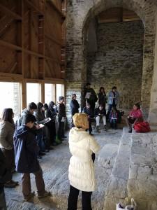 El paper dels i les guies és fonamental en el projecte.  Foto: Ecomuseu de les Valls d'Àneu