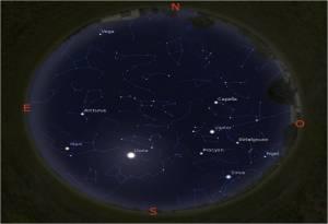 Simulació del cel del 15 de març a les 22.00h