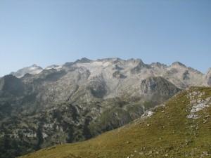 Panoràmica de la glacera de la Maladeta,2012 (Autor: Dani Mora)