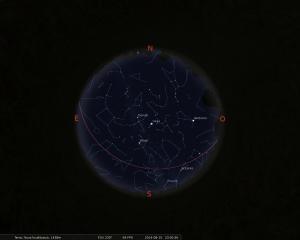 Simulació del Cel del 15 d'Agost a les 21:30h