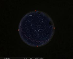 Simulació del Cel del 15 de setembre a les 21:30h