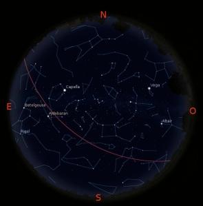 Simulació del Cel del 15 de Novembre a les 21:30