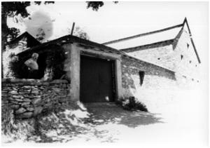 Borda de Joan d'Àrreu. Foto cedida per gentilesa del Consell Cultural de les Valls d'Àneu (Arxiu d'imatges) Registre 3818. Fons diverses (316) Fons original: Consell Cultural de les Valls d'Àneu