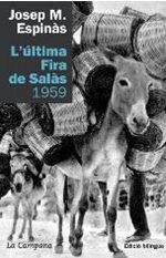 Fotografia 1: Exemplar del llibre de Josep M.Espinàs sobre la fira de Salàs [3].