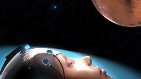 Simulació del possible viatge a _Mart d'astronautes en estat de letargia. Imatge: Spaceworks.